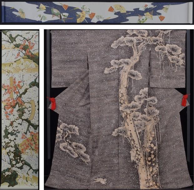 これも注目!生誕300年記念「若冲プライスコレクション着物」