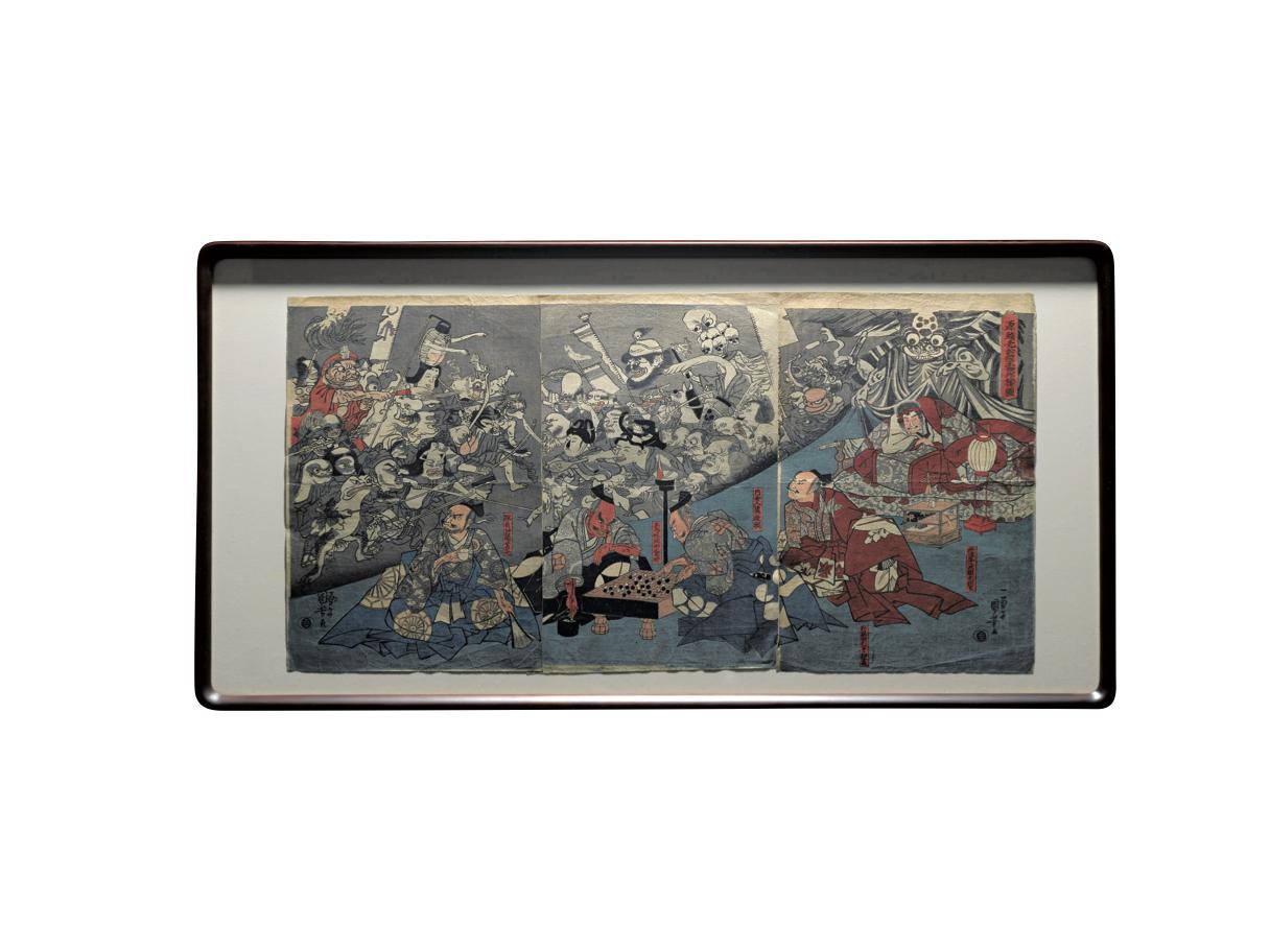 鴻山の妖怪図から3大浮世絵師の妖怪グッズまですべて購入できます! 暑い夏に涼を演出!