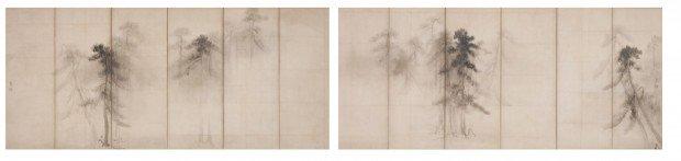 500年の時を経て、長谷川等伯親子作品が夢の再会