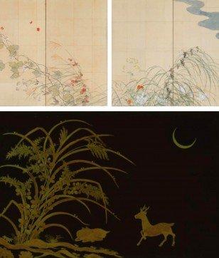 テーマは「秋」。酒井抱一、琳派作品、絵巻、蒔絵で感じる日本の季節。今週末オススメ美術展情報