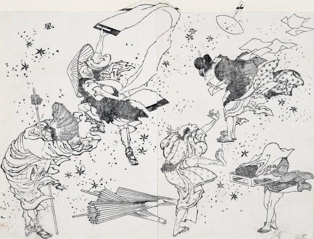 Mischievous_wind_Hokusai