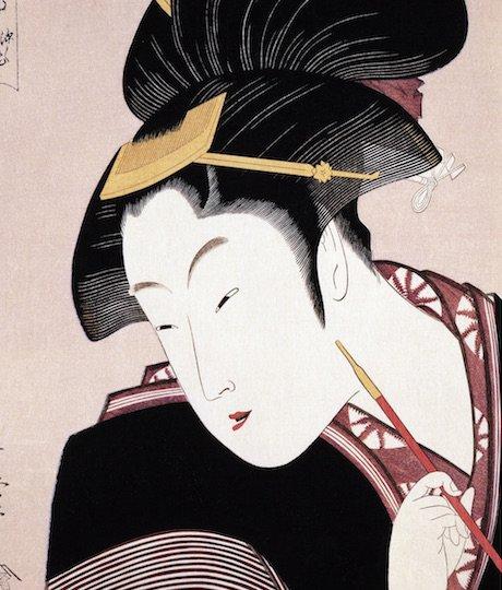 4 Secrets Behind the Allure of Kitagawa Utamaro's Portraits of Beautiful Women Revealed!