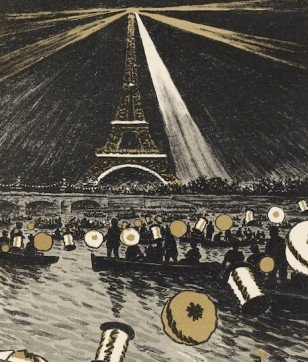 Hokusai Wows Westerners at the Paris Expo