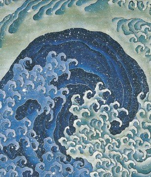 北斎の「波」と「縄文土器」は、ぐるぐる渦巻きが共通点!