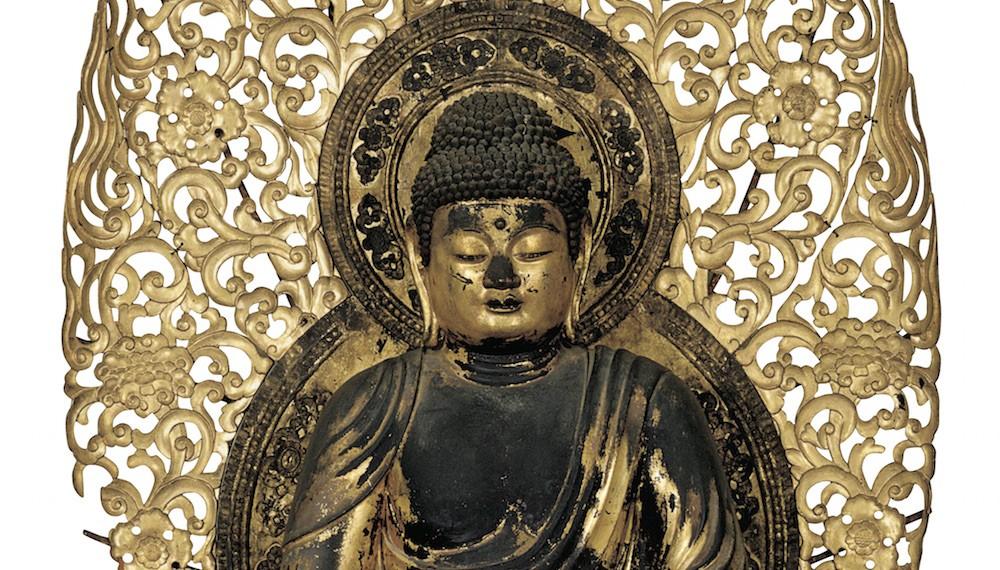 阿弥陀像の形の始まり。皇室ゆかりの寺宝、「秋季名宝展」