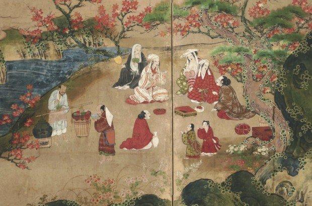 日本美術と世界のアートから見る、幸せの瞬間