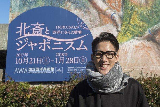 北斎LOVEな西洋のアーティストたち♡ 尾上右近の日本文化入門_INTOJapaaaaN!
