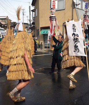 これぞ日本の奇祭!<br>山形・かみのやま温泉で<br>カセ鳥がカッカッカー