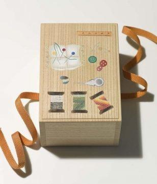 箱藤商店の「桐のお針箱」