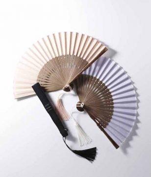 和樂×宮脇賣扇庵 「麻のポケット扇子」