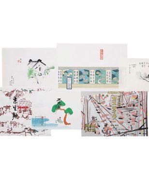 """贈る楽しみと貰う喜び。京都の名店は""""掛け紙""""も美しいのです!"""