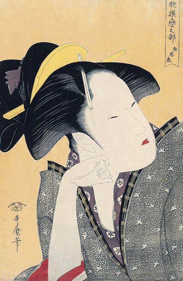 From pin-ups to fashion! Kitagawa Utamaro's ukiyo-e portrait prints