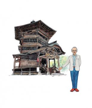 「会津さざえ堂」の見どころは? 建築家・藤森照信先生が解説