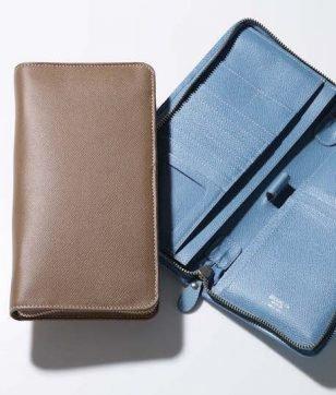フレンチカーフのパスポートケース