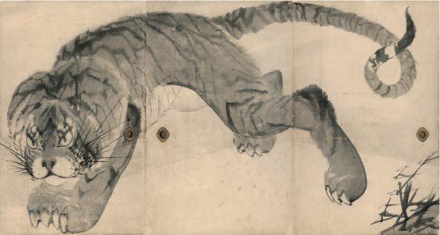 和歌山の寺、無量寺で見る!長沢蘆雪の傑作「虎図襖」