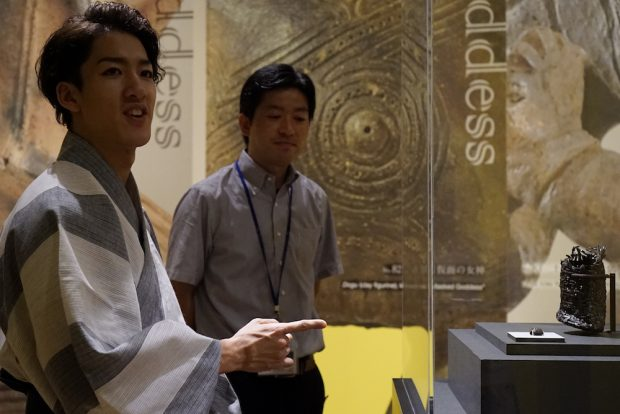 特別展「縄文ー1万年の美の鼓動」へ! 国宝「合掌土偶」が面白い 尾上右近の日本文化入門