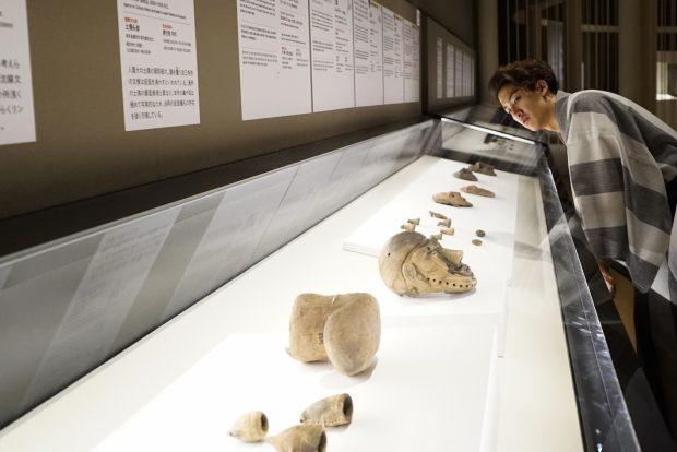 特別展「縄文ー1万年の美の鼓動」へ。国宝「合掌土偶」が面白い!
