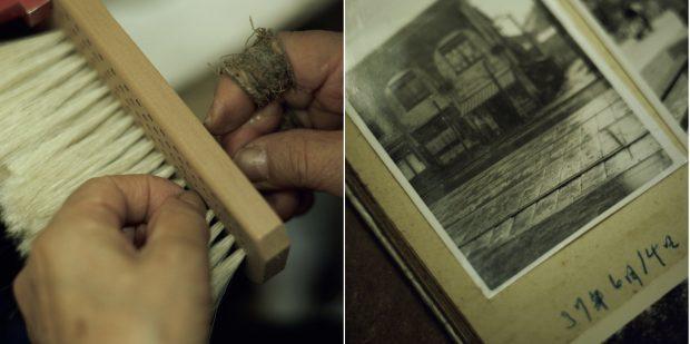 和樂×宇野刷毛ブラシ製作所「若冲動物ブラシ NAIL & FOOT」