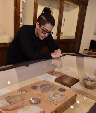 永青文庫で、細川家の「殿と姫の美のくらし」を拝見。洋館の美術館が気持ちいい!