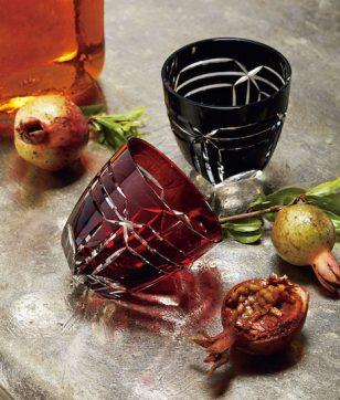 和樂×清水硝子「フェルメール江戸切子酒杯『窓』」
