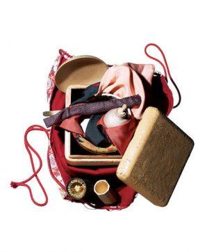 和樂×アバンギャルド茶会×菱田賢治「白漆茶箱セット」