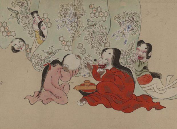 「描かれた『わらい』と『こわい』展-春画・妖怪画の世界-」細見美術館