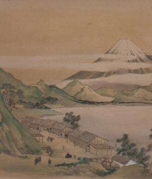 「江戸絵画の美-白隠、仙厓から狩野派まで-」永青文庫