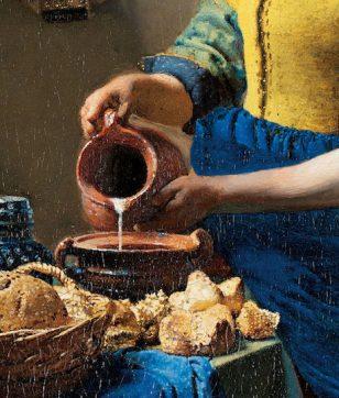 「牛乳」の質感を点で描いたフェルメール。白の表現方法がスゴい!