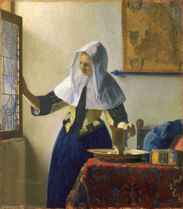 フェルメール作品に込められた意味とは。「水差しを持つ女」の白に注目