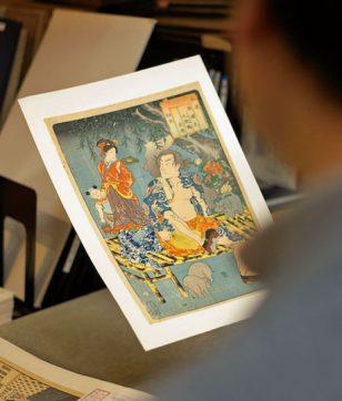 500円のワゴン販売も! 浮世絵を買うなら世界最大の古書店街・神保町へ