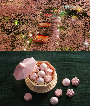 品川の日本庭園でお花見弁当&桜スイーツを堪能「高輪 桜まつり2019」