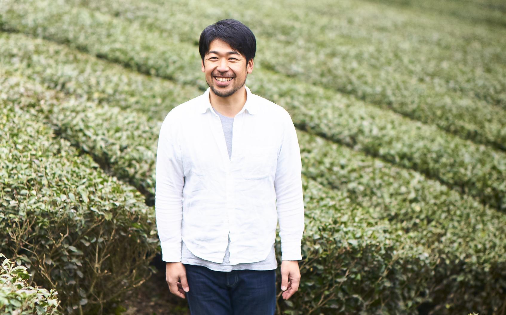 EN TEA マスターブレンダー・栽培家の松尾 俊一さん