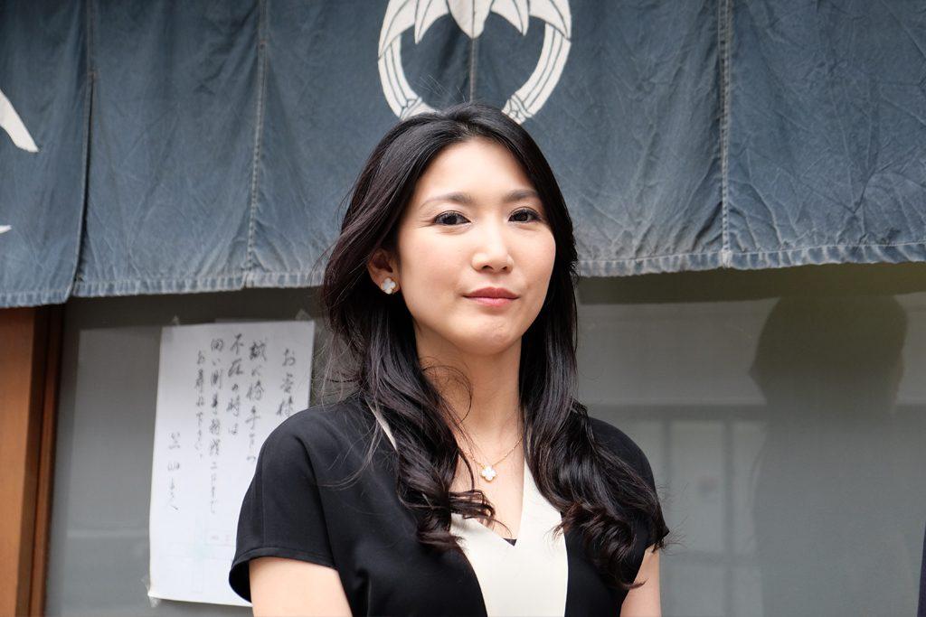 日本画家の宮下真理子さん