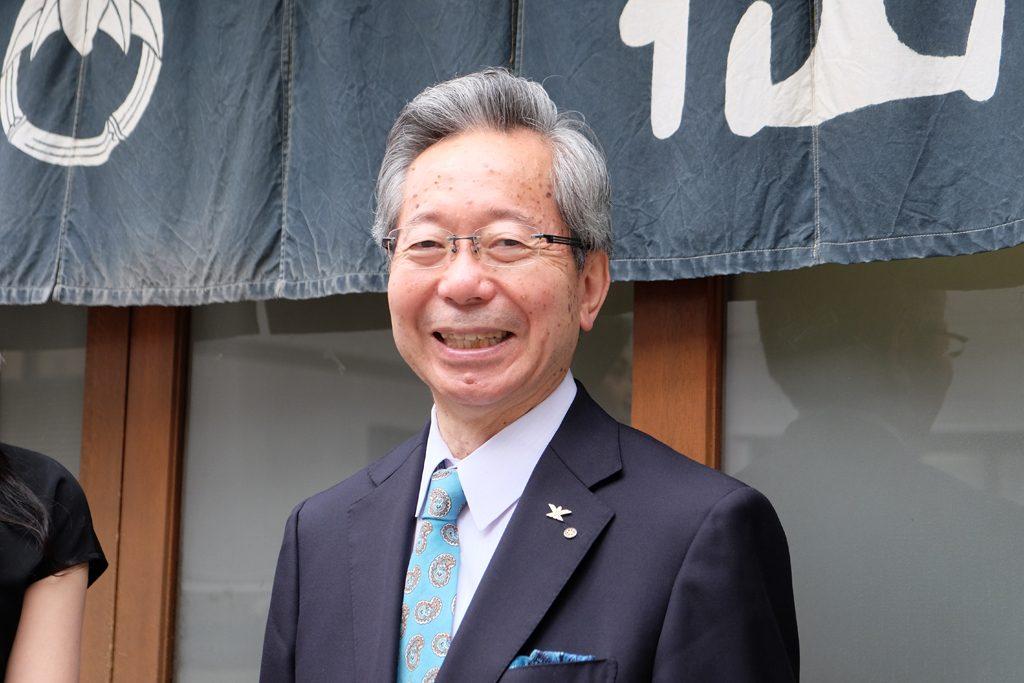 株式会社竺仙の小川文男社長