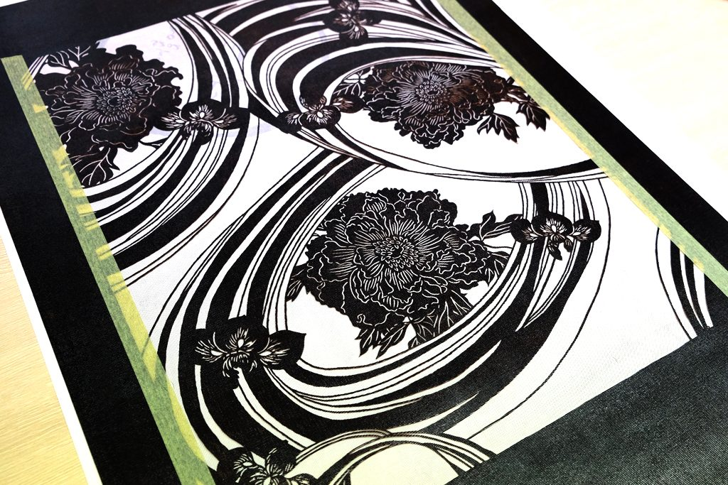 竺仙の浴衣の型紙