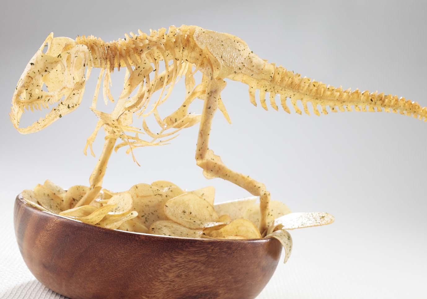 過去作品『P-Rex ポテチザウルス のりしお』