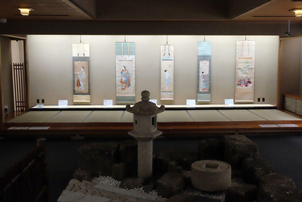 太田記念美術館の展示室