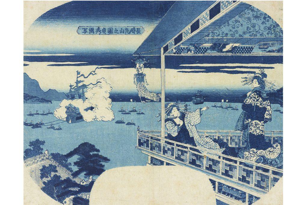 歌川貞秀「長崎丸山之図」太田記念美術館