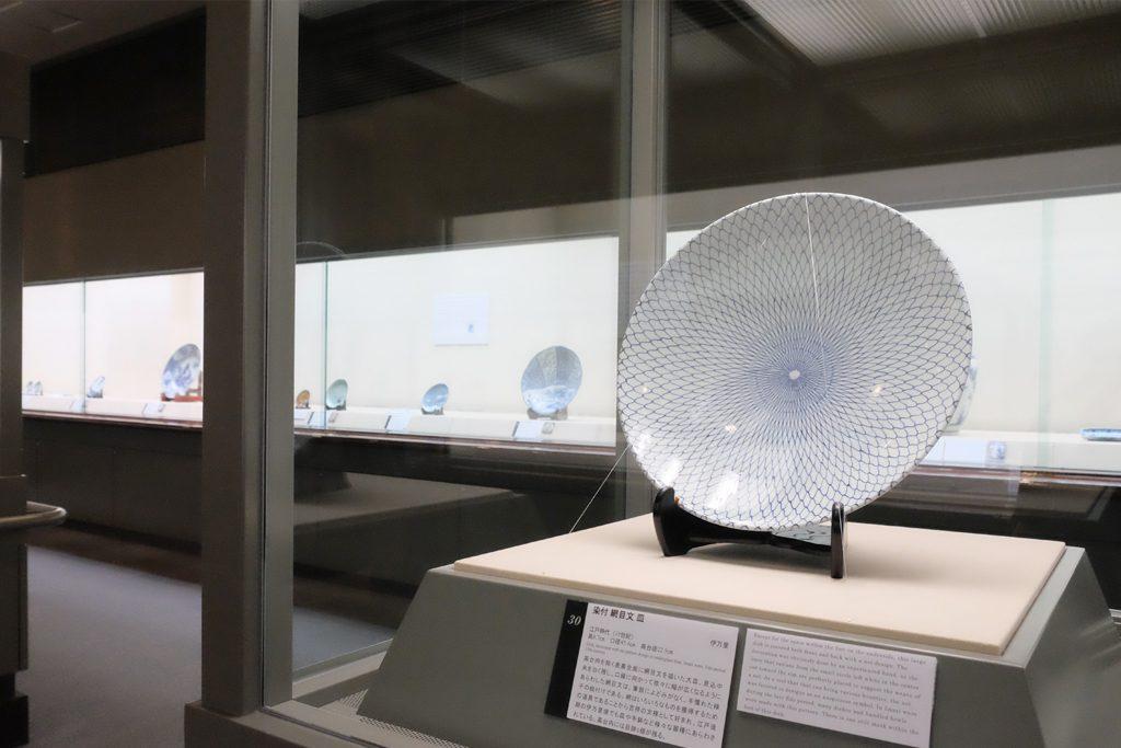 戸栗美術館「青のある暮らし」展示風景