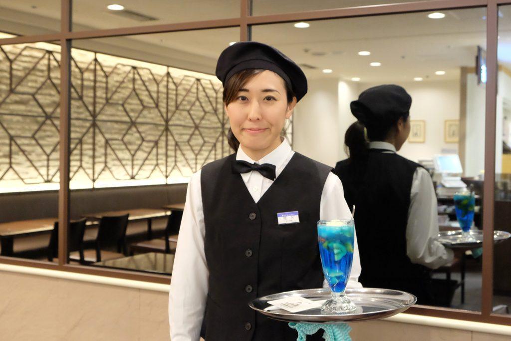 丸福珈琲店渋谷店「青のクリームソーダ」