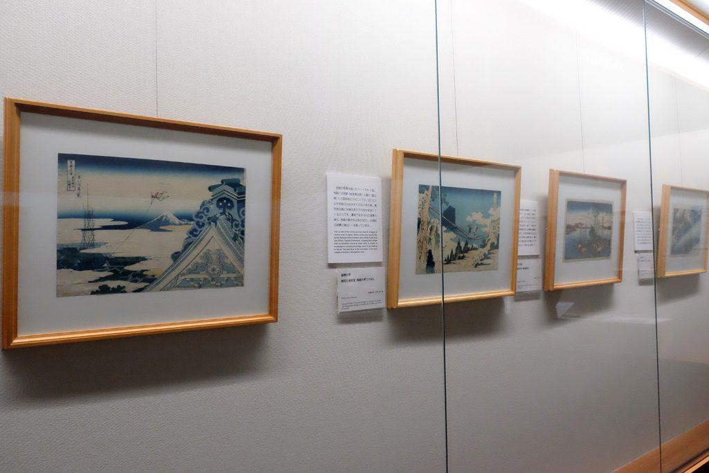 太田記念美術館「青のある暮らし」展示風景