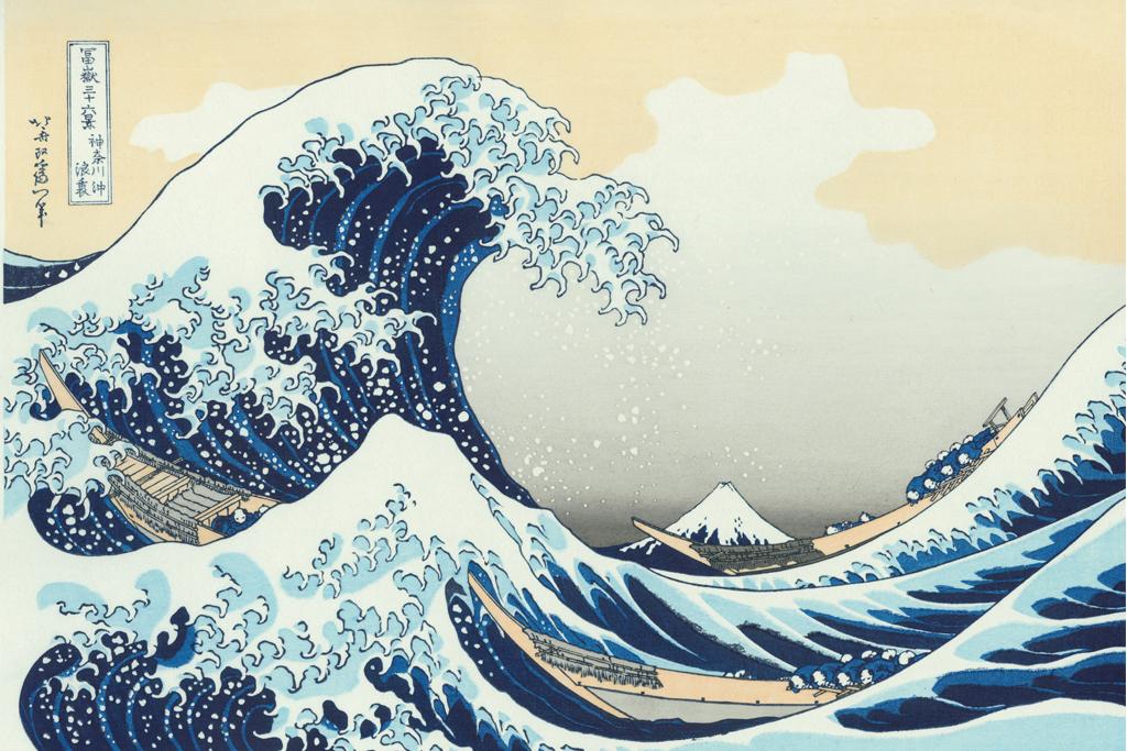 アダチ版復刻「神奈川沖浪裏」