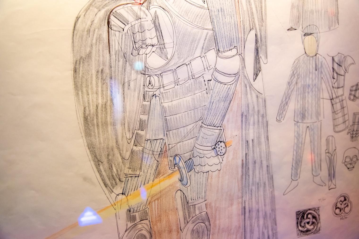 ダース・ベイダーのコンセプト・アート