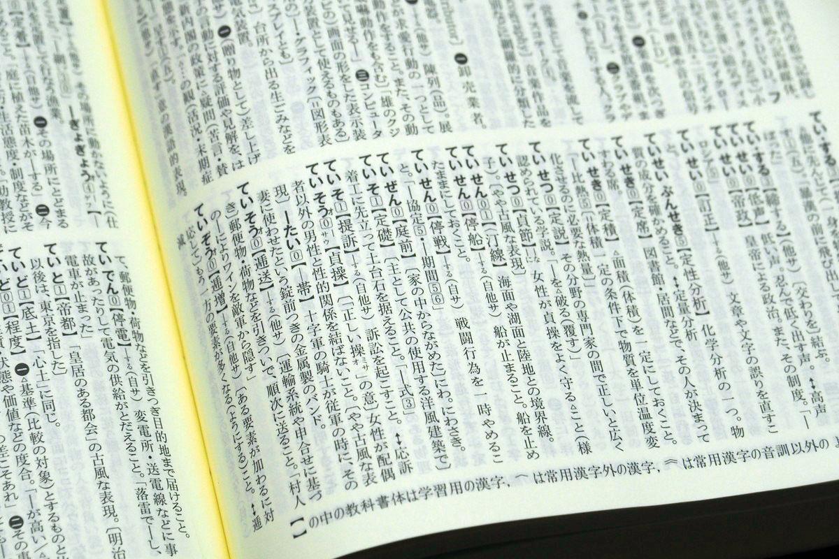 明解 辞典 新 国語